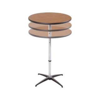 AmTab telescoping cafe table