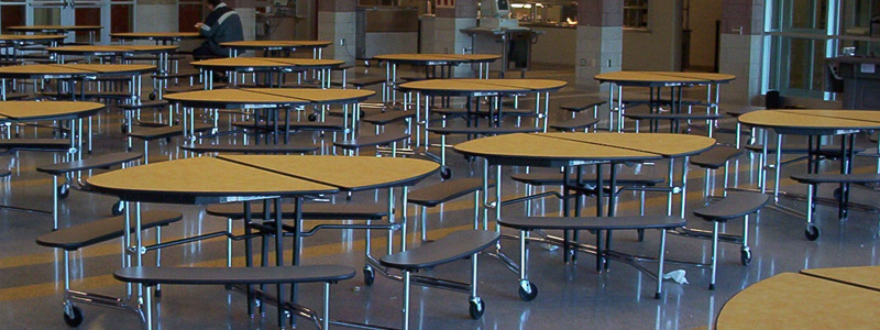 Cafeteria Tables & Furniture