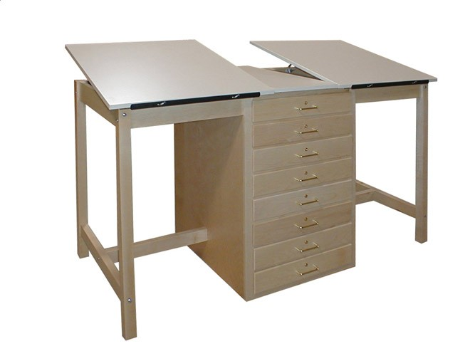 Dual Drawing Tables