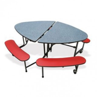 Mitchell elliptical cafe table