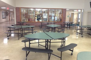 Cafeteria tables from School Furnishings