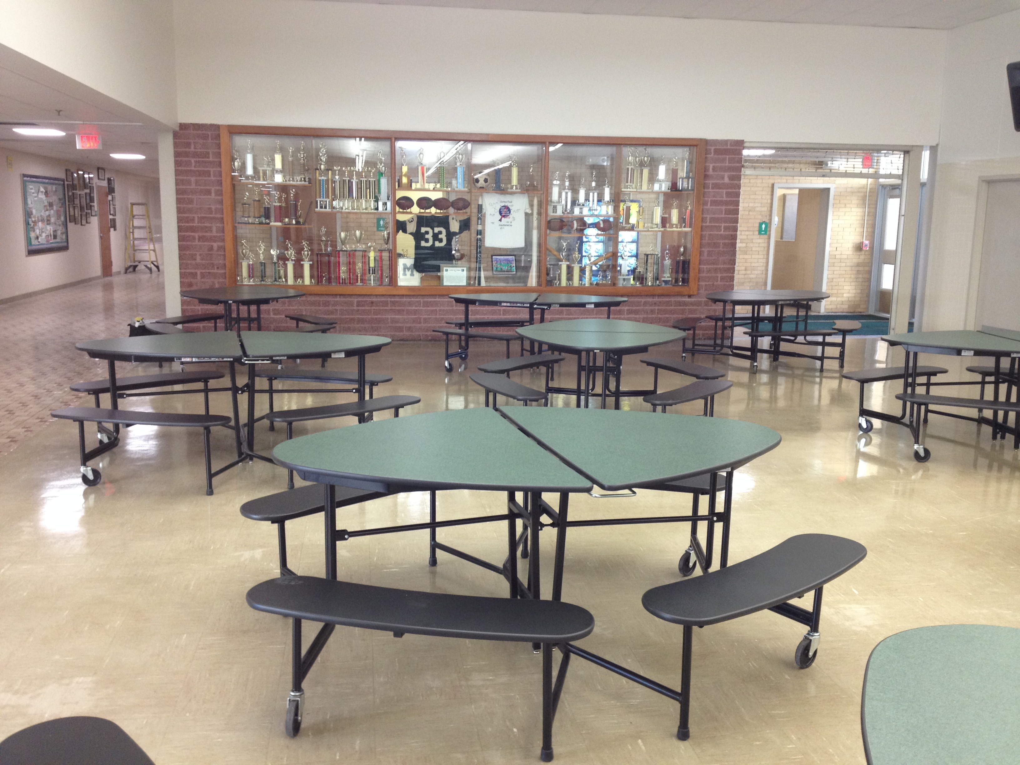 cafeteria tables from school furnishings - Cafeteria Tables