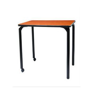 Academia Elevate activity table with casters