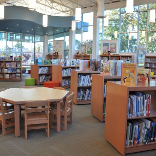 Elementary library furniture