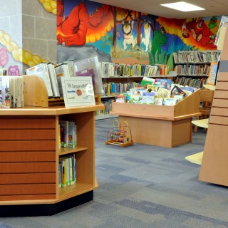 Tesco big book and display book storage for libraries