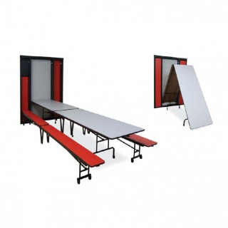Michell Wall Mounted Cafeteria Table
