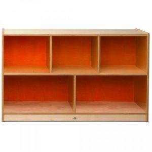 Whitney Brothers 30 inch Orange Spice Cabinet-Preschool & Kindergarten List Price $327.00 Sample Price $125.99