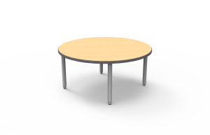 Wisconsin Bench 60'' Round Fusion Maple- Sample Inventory List price $225.00 Sample Price $99.99